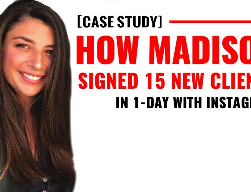 [CASE STUDY] How Madison Signed 15 New Clients In 1-Day With Instagram